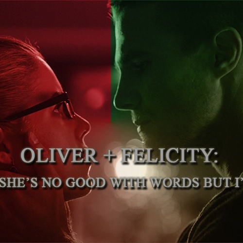 OLICITY: she says she's no good with words but i'm worse