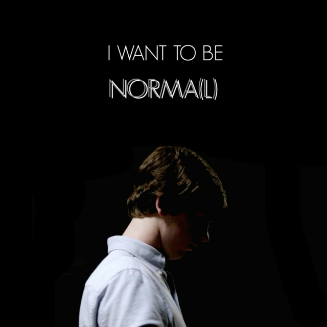 i want to be norma(l)