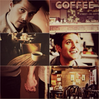 Angel of Mine || Coffee Shop AU