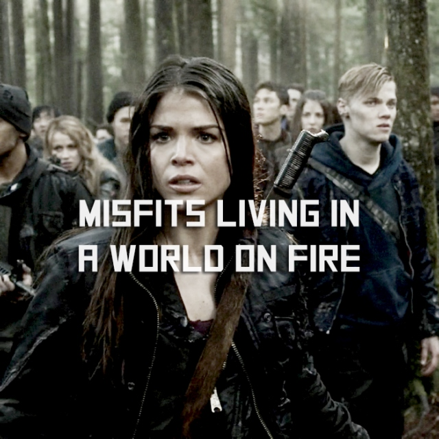 misfits living in a world on fire