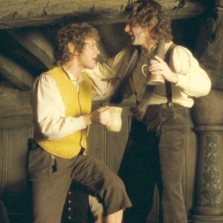 party hard with hobbits