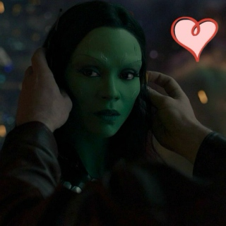 dear gamora; love peter