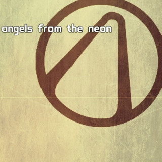 angels from the neon