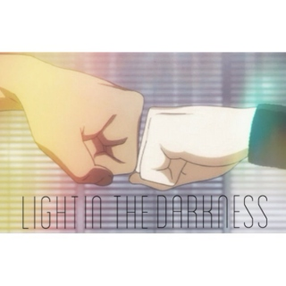 light in the darkness. kuroko & aomine.