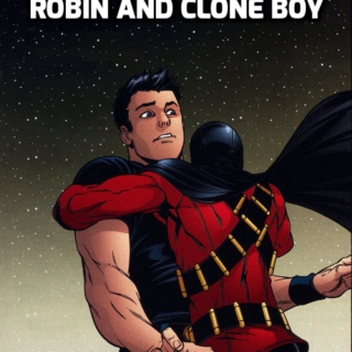 robin and clone boy