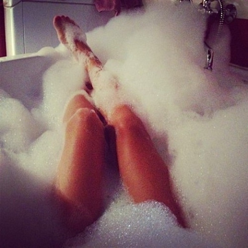 The Classiest Bubble Bath You'll Ever Take