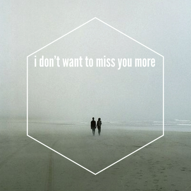 I don't want to miss you more