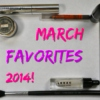 March Favourite Songs