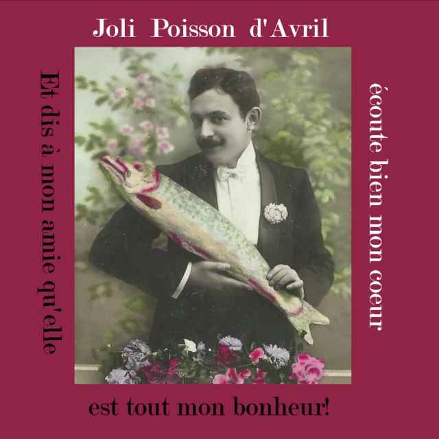Poisson d'Avril for 'The French Muse'