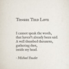 Tongue Tied Love