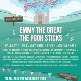 Just for Fun - Wales Goes Pop 2015 (Cardiff April 3-5)