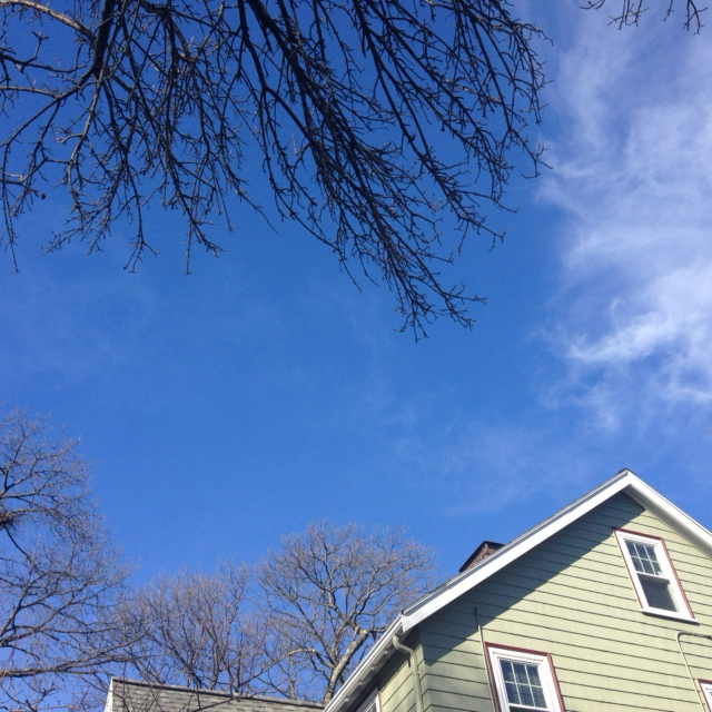 And The Sky Was So Blue