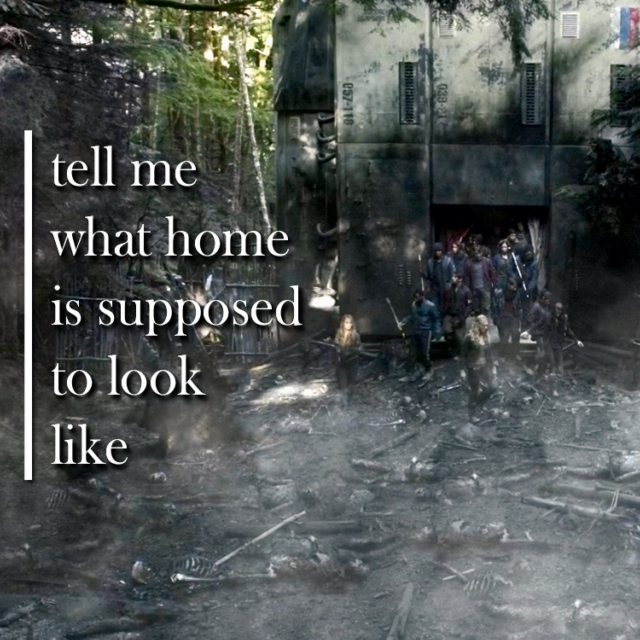 tell me what [home] is supposed to look like