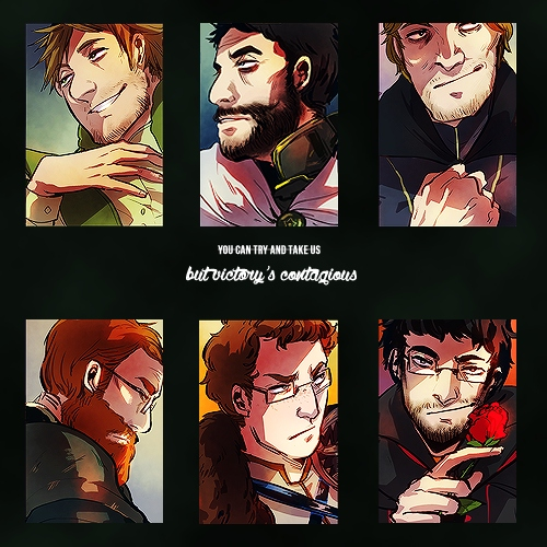 8tracks radio | victory's contagious (14 songs) | free and ... Achievement Hunter Comic Poster