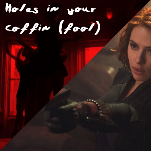 Holes in your coffin (fool)