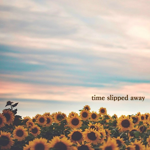 time slipped away