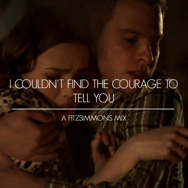 I Couldn't Find The Courage To Tell You