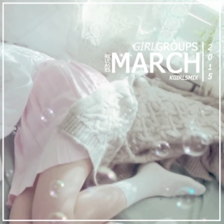 girl group's march releases
