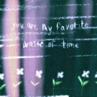 you are my favorite waste of time