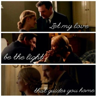 Let my love be the light that guides you home - Anna and Bates S5