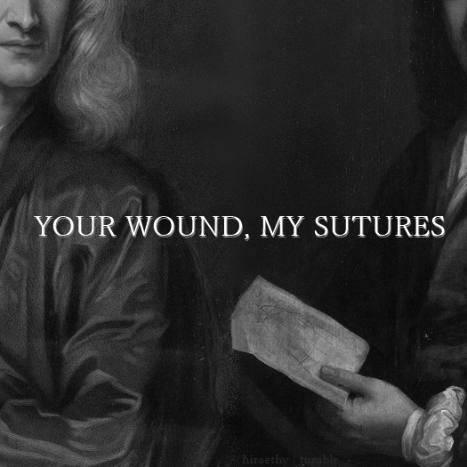 your wound, my sutures