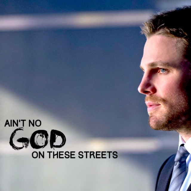 ain't no god on these streets