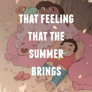 the feeling that the summer brings