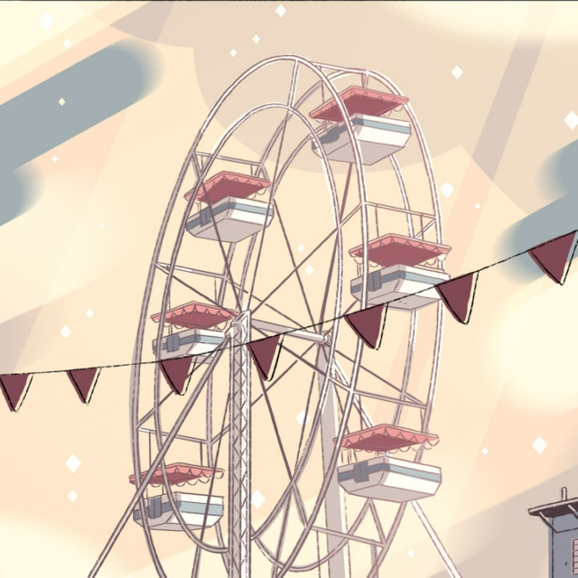 lets sit at the top of the ferris wheel