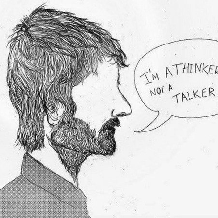 thinking is better than talking
