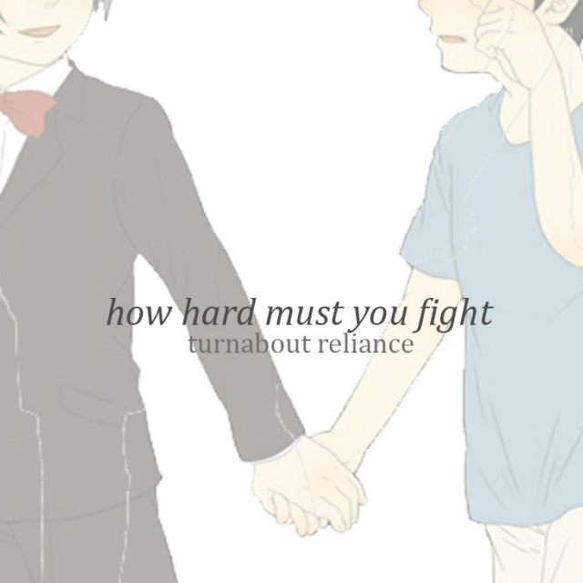 how hard must you fight (turnabout reliance) - wrightworth mix