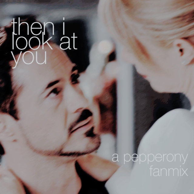 then i look at you