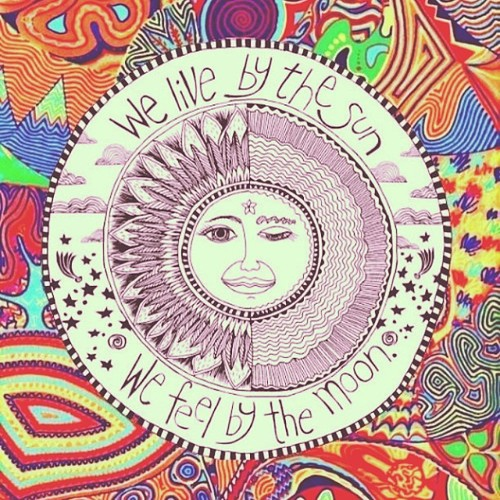we live by the sun