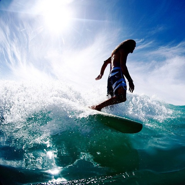 Allons surfer !