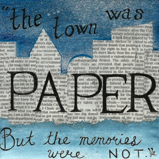 paper houses & paper people