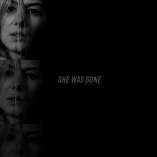 she was gone.
