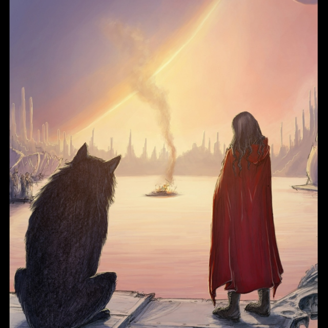 Scarlet And The Wolf