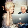 marie antoinette and a macbook