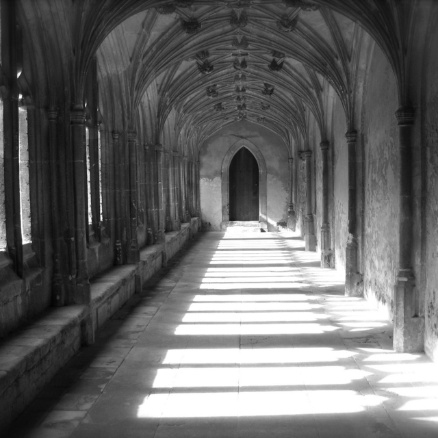 shelter in the cloisters