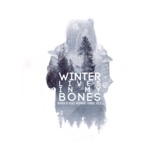 Winter Lives In My Bones