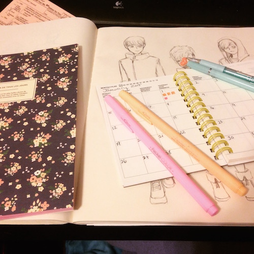 Buy cute pens and get to work
