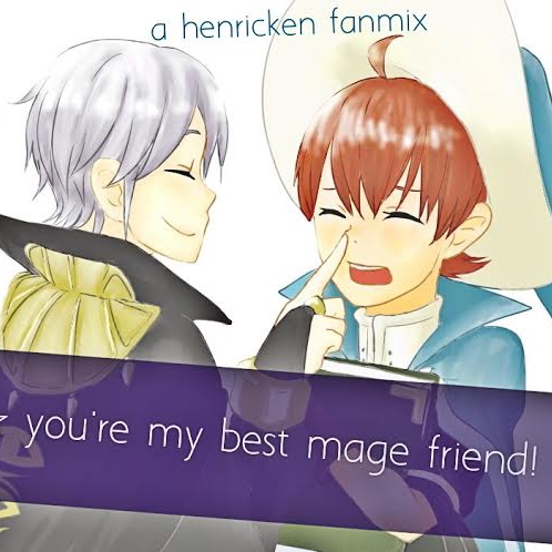 you're my best mage friend