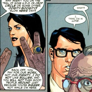 In the Line of Fire: Lois Lane