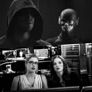 Distracting Us From Work: Olicity/Snowbarry Mix