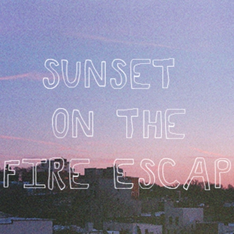 Sunset on the Fire Escape