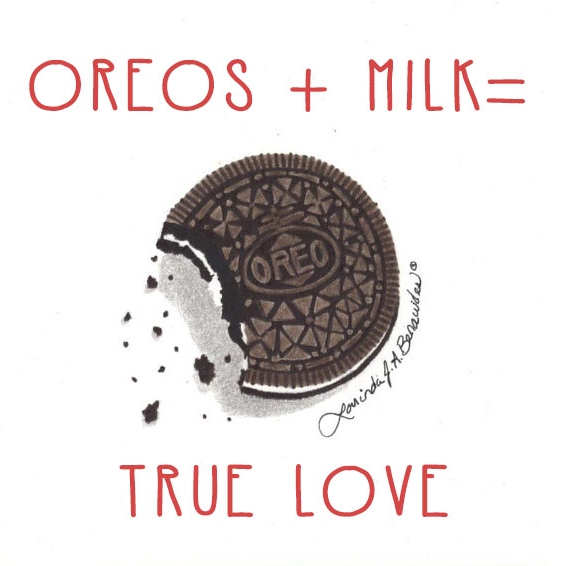 Oreos + Milk = True Love