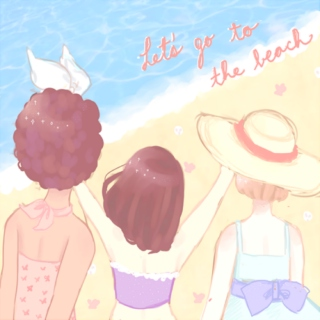let's go to the beach together