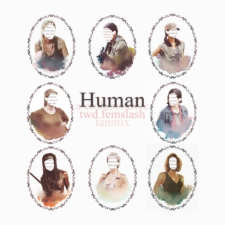 Human || A Walking Dead Femslash Mix