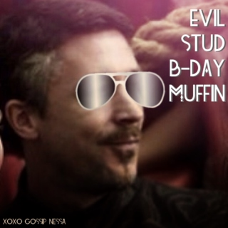 Evil Stud B-day Muffin