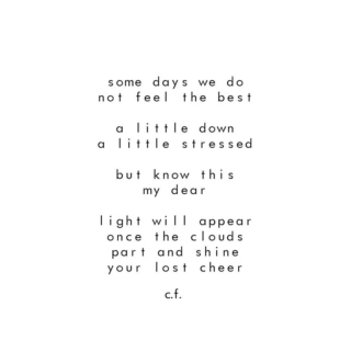 Shine Your Lost Cheer..