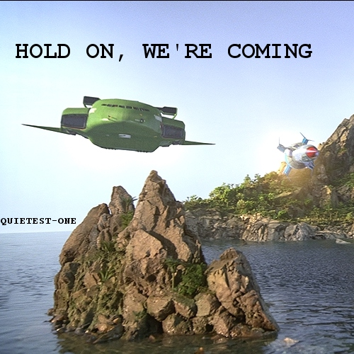 hold on, we're coming